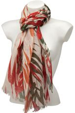 Printed Linen Scarf YS1014