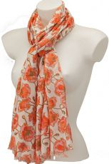 Poppy Design Scarf