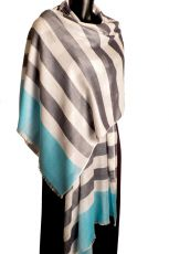 Simple Summer Pashmina Banded Design
