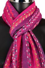Soft Striped Womens Scarf