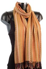 Striped Scarf For Ladies