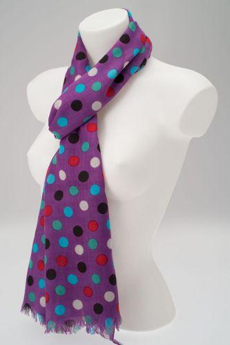wholesale polka dot scarves at york scarves uk
