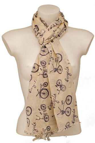 Bicycle Design Scarf
