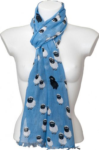 Yorkshire Sheep Scarf