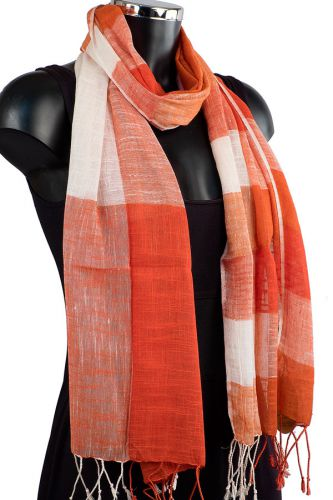 Linen Mix Summer Scarf