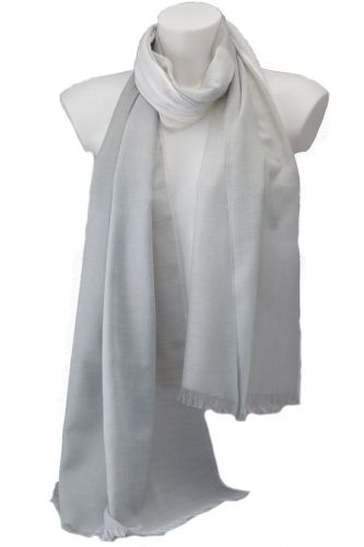 Large summer pashmina two tone