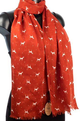 Cotton Dog Scarf