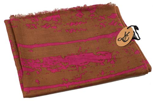 Abstract Pattern Scarf BOGOF: Choco