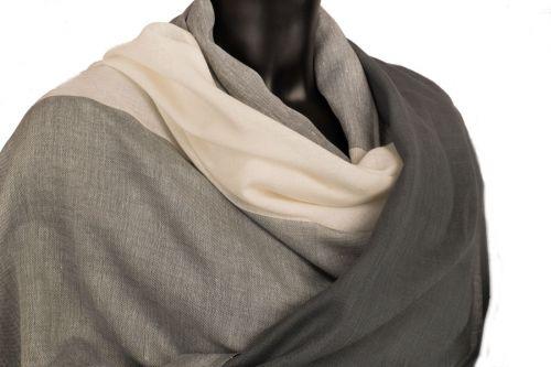 Cotton pashmina: Charcoal